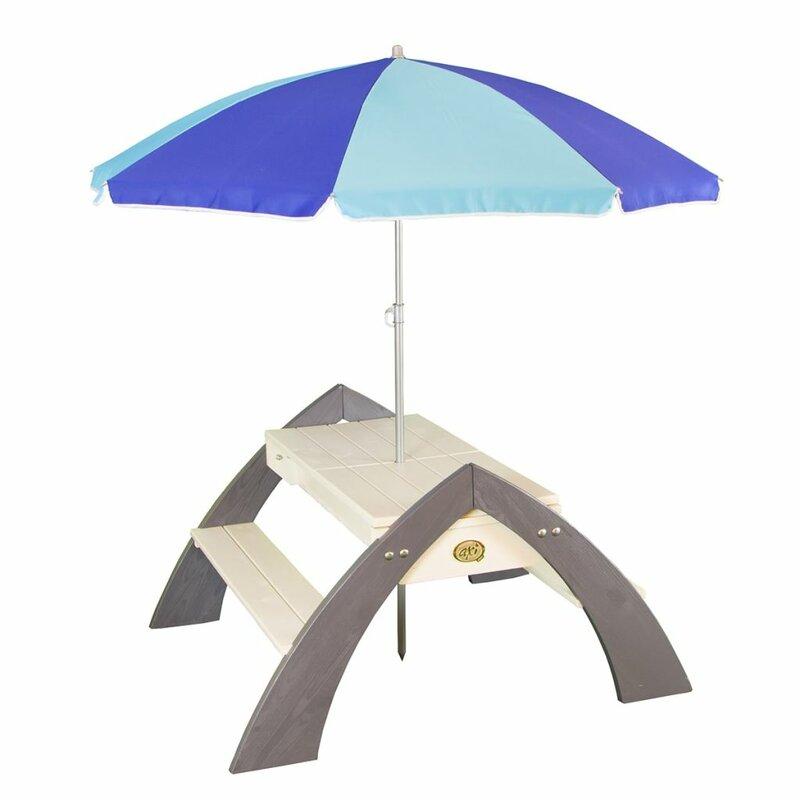 garten living picknicktisch f r kinder aus holz. Black Bedroom Furniture Sets. Home Design Ideas