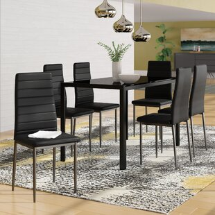 Haris 6 Piece Breakfast Nook Dining Set