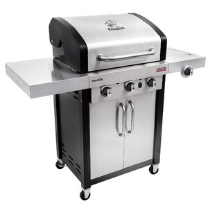 Signature InfraRed 3-Burner Propane Gas Grill with Cabinet