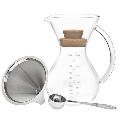 25d7ce51156 HIC Harold Import Co. Pour Over Borosilicate Coffee Maker