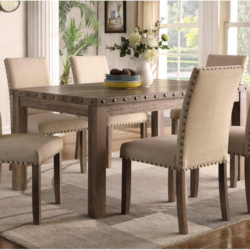 Quattlebaum 7 Piece Solid Wood Dining Set