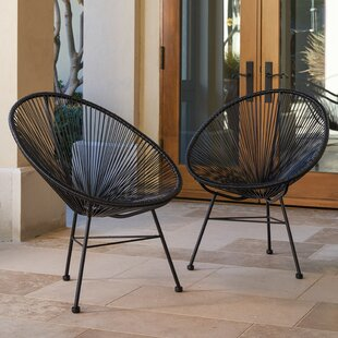 Repass Modern Papasan Chair (Set Of 2)