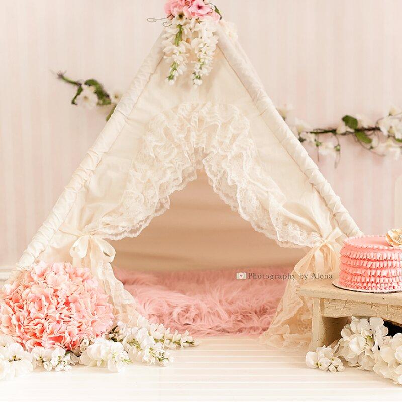 Bianca Baby Teepee Play Tent & Sugar Shacks Teepees Bianca Baby Teepee Play Tent u0026 Reviews   Wayfair