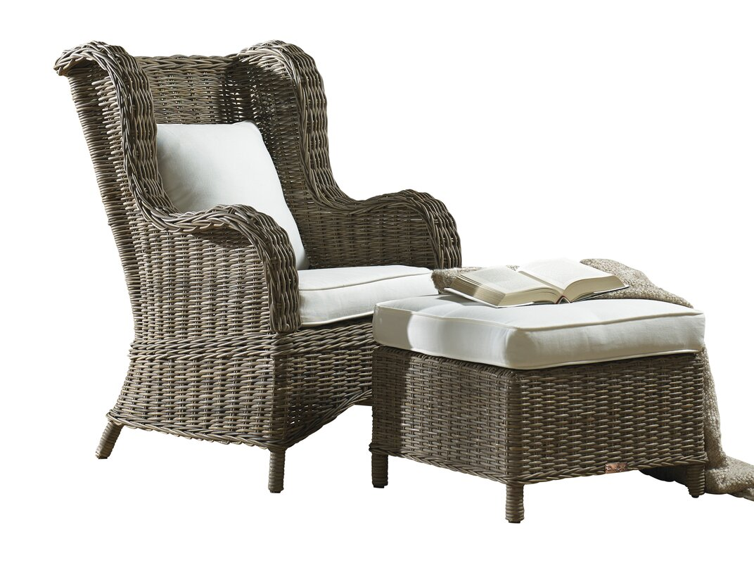 Panama Jack Sunroom Exuma Wingback Chair & Reviews