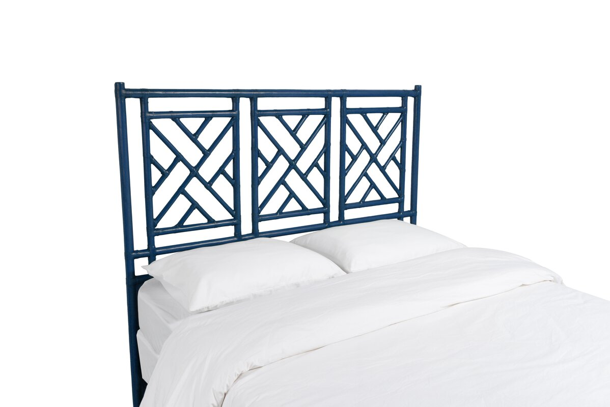 David Francis Furniture Chinese Chippendale OpenFrame Headboard - Chinese chippendale bedroom furniture