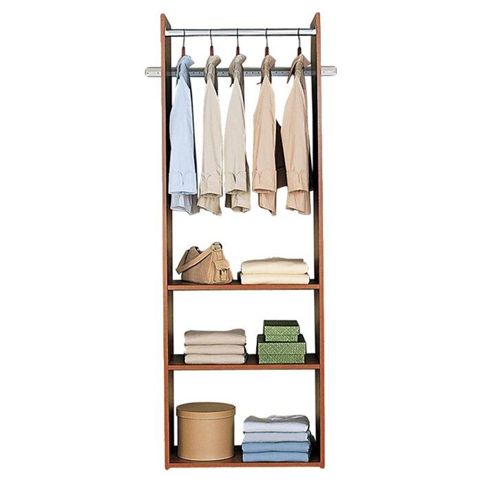 easy track 24 w closet tower reviews. Black Bedroom Furniture Sets. Home Design Ideas