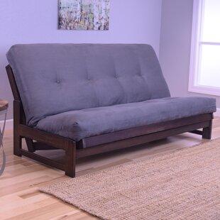 save to idea board armless futon frame   wayfair  rh   wayfair