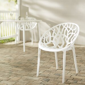 metrocles stacking patio dining chair set of 2
