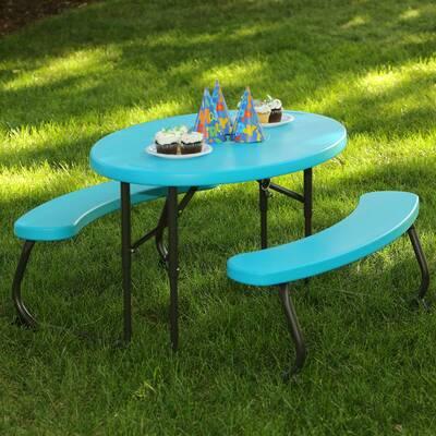 Sensational Kidkraft Outdoor Kids Picnic Table Reviews Wayfair Download Free Architecture Designs Scobabritishbridgeorg