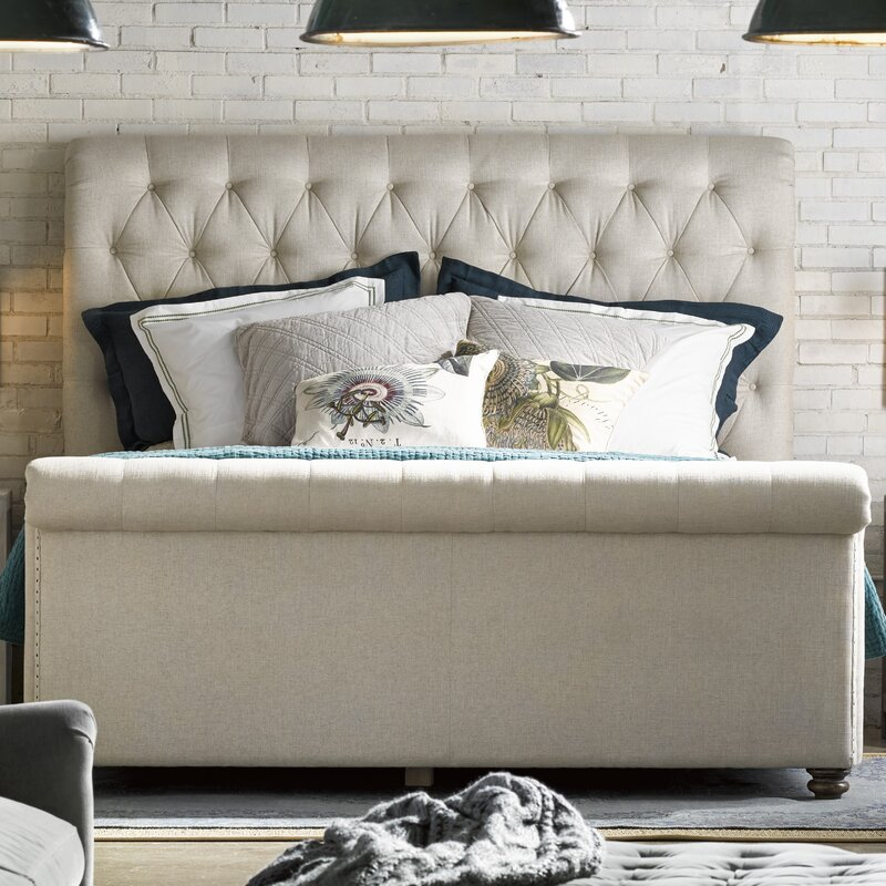 upholstered sleigh beds. Perfect Sleigh Robin Upholstered Sleigh Bed Throughout Beds B