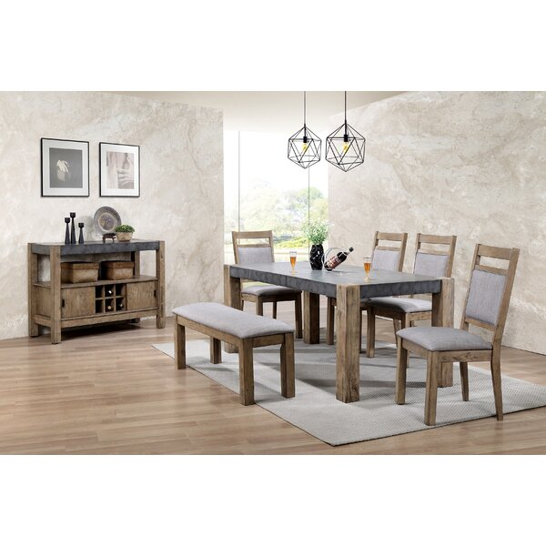 Roundhill Furniture Costabella 6 Piece Dining Set & Reviews