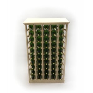 50 Bottle Floor Wine Bottle Rack by Wineracks.com