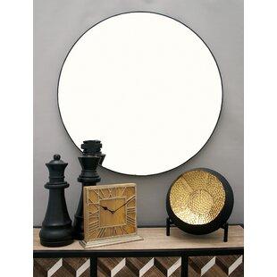 Kittel Wood Wall Mirror
