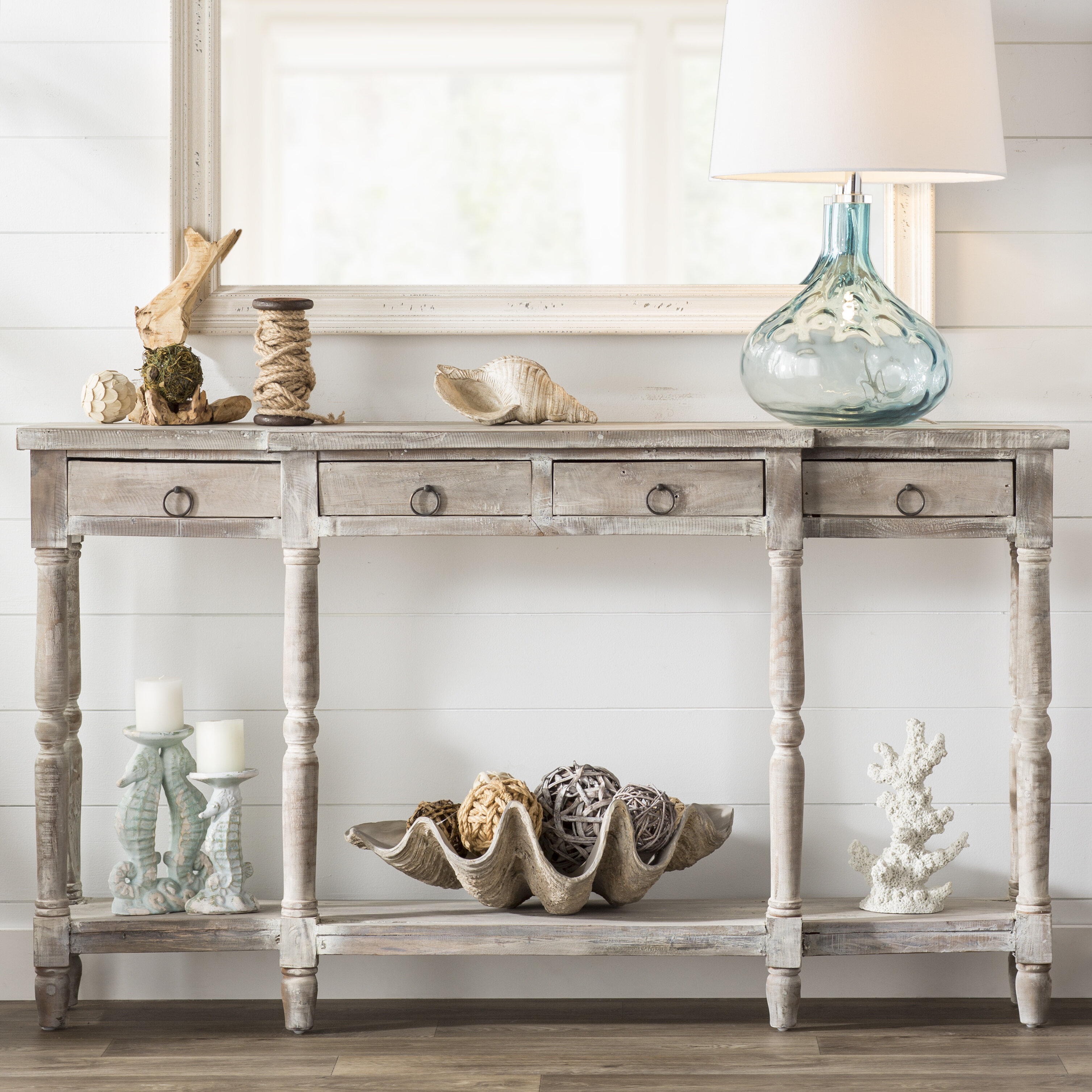 Delicieux Beachcrest Home Minneola Cottage Console Table U0026 Reviews | Wayfair