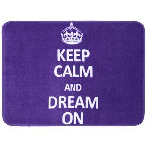 Remy Keep Calm Dream Bath Mat