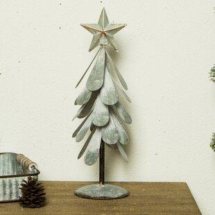 iron galvanized christmas tree dcor