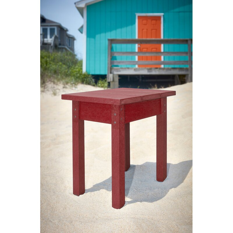 Amazing Sandiford Plastic Resin Adirondack Side Table Unemploymentrelief Wooden Chair Designs For Living Room Unemploymentrelieforg