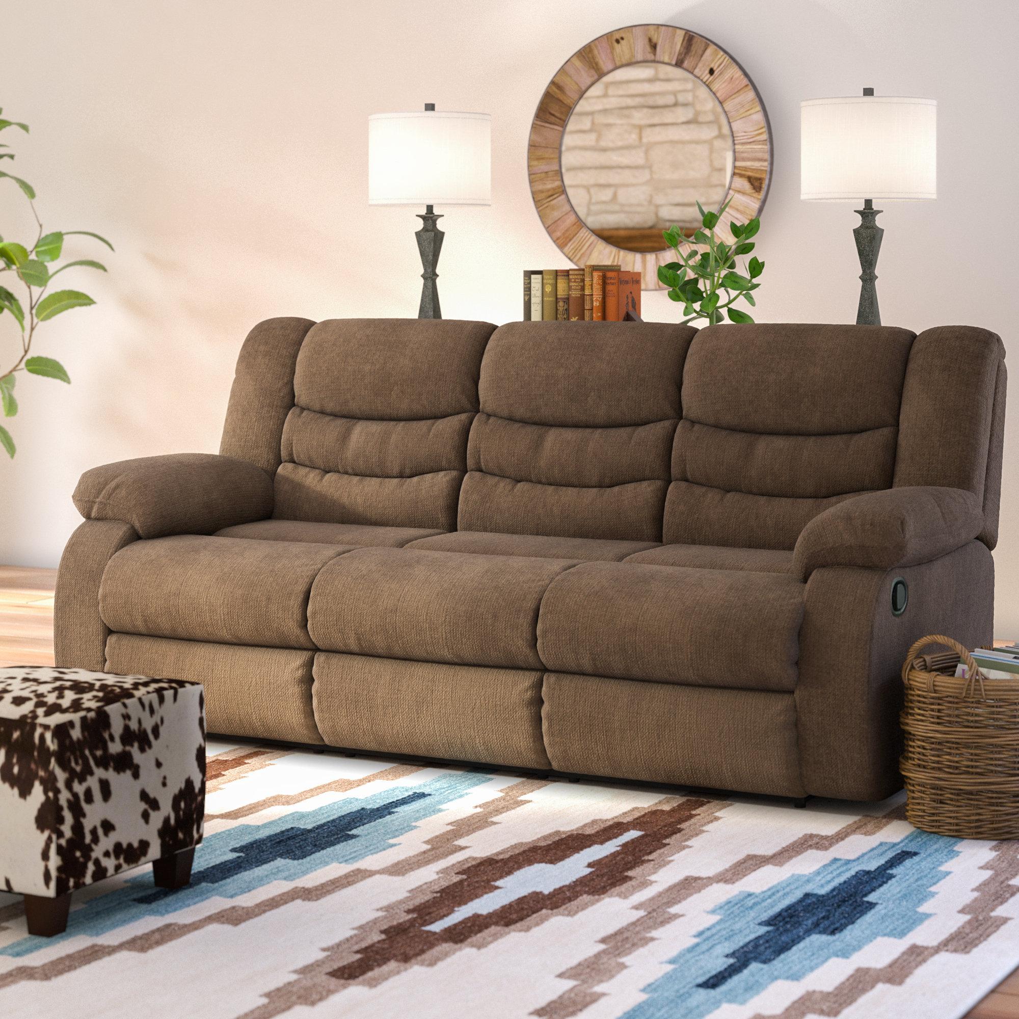 loon peak ridgemont reclining sofa  u0026 reviews   wayfair  rh   wayfair