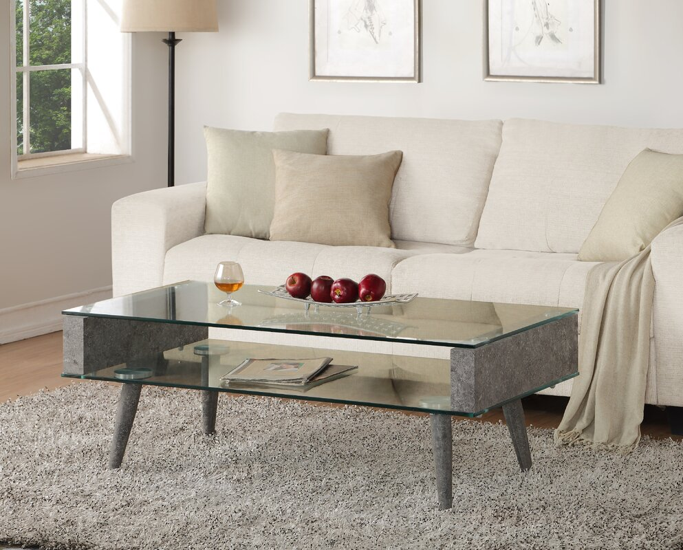 Mid century modern coffee tables youll love wayfair boyd coffee table geotapseo Gallery