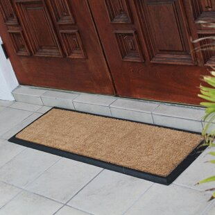 double door outdoor mats wayfair. Black Bedroom Furniture Sets. Home Design Ideas