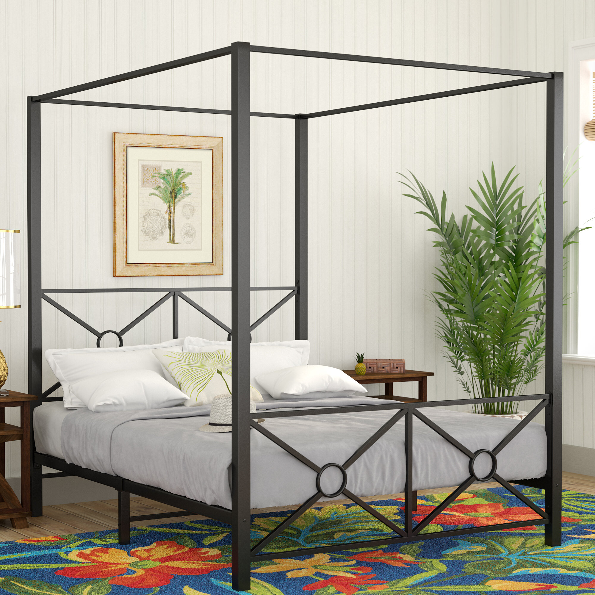 Symeon canopy bed