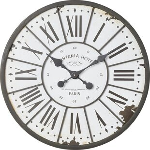 Hartshorn Oversized 24 Wall Clock