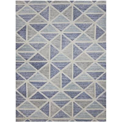 Callista Hand Tufted Wool Blue Area Rug Reviews Allmodern