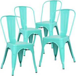 modern metal dining chairs. Alyssa Dining Chair  Set of 4 Modern Metal Chairs AllModern
