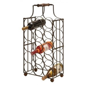 15 Bottle Tabletop Wine Rack by ABC Home Collection