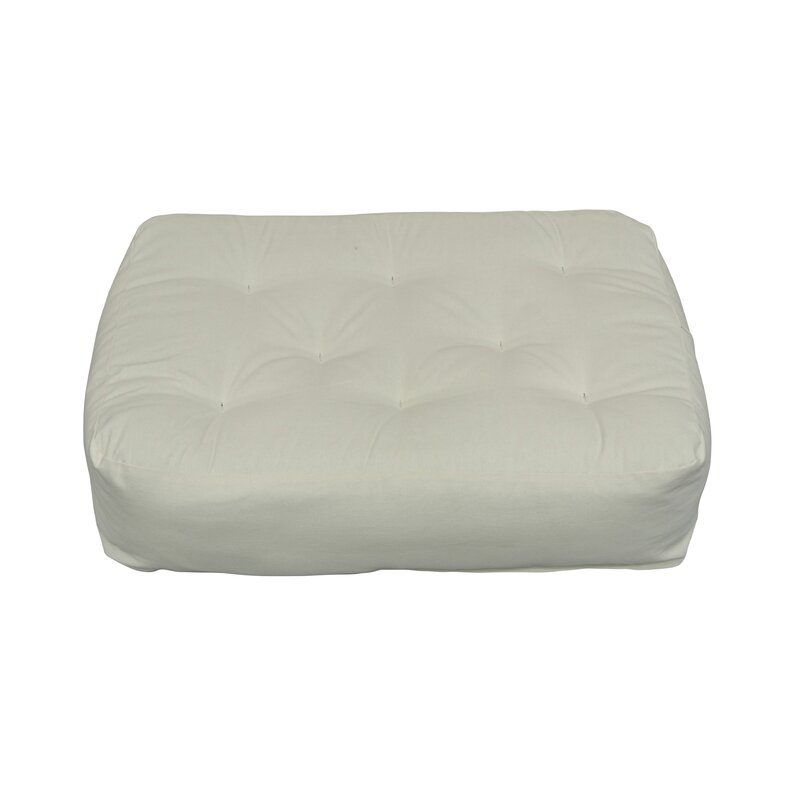 6 Cotton Ottoman Size Futon Mattress