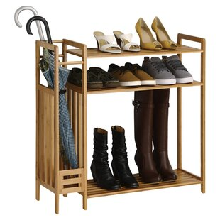 Utility Entryway 3 Tier Shoe Rack