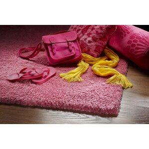 bouvier hot pink area rug
