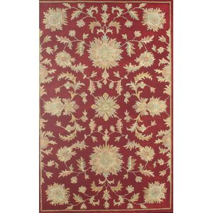 Joyce Red Agra Area Rug