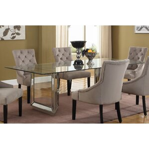 Sophie Mirrored Dining Table Wayfair