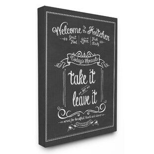 Decorative Kitchen Chalkboards | Wayfair