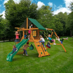 Gorilla Space Saver Swing Set Wayfair