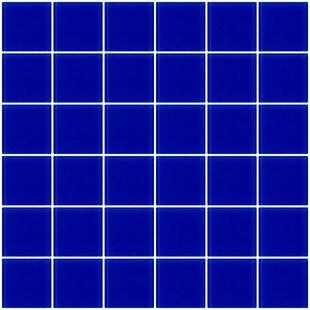 Bijou 22 2 X Gl Mosaic Tile In Cobalt Blue