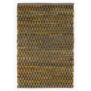 Taos Meadows Hand Woven Charcoal Area Rug