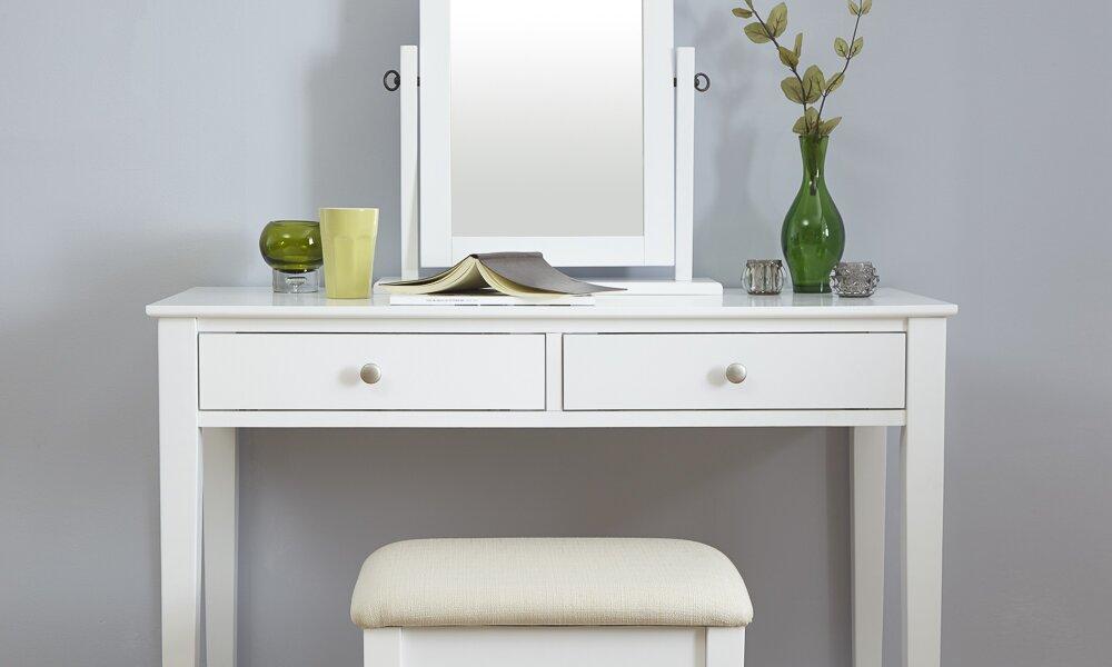 modern you schminktisch set andre mit spiegel bewertungen. Black Bedroom Furniture Sets. Home Design Ideas