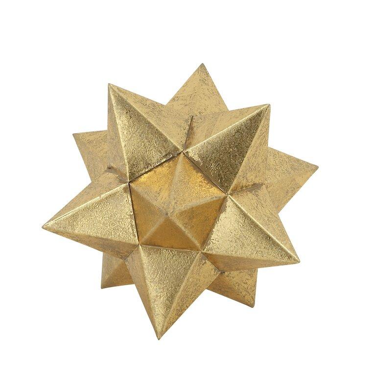 Figurine étoile métallique