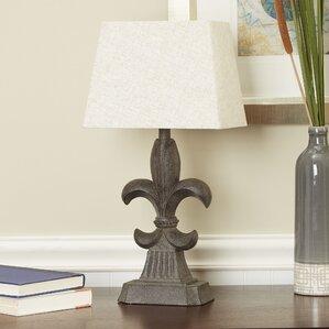 Frankfort Fleur De Lis Accent 19 Table Lamp