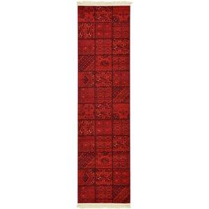 Ivette Red Area Rug