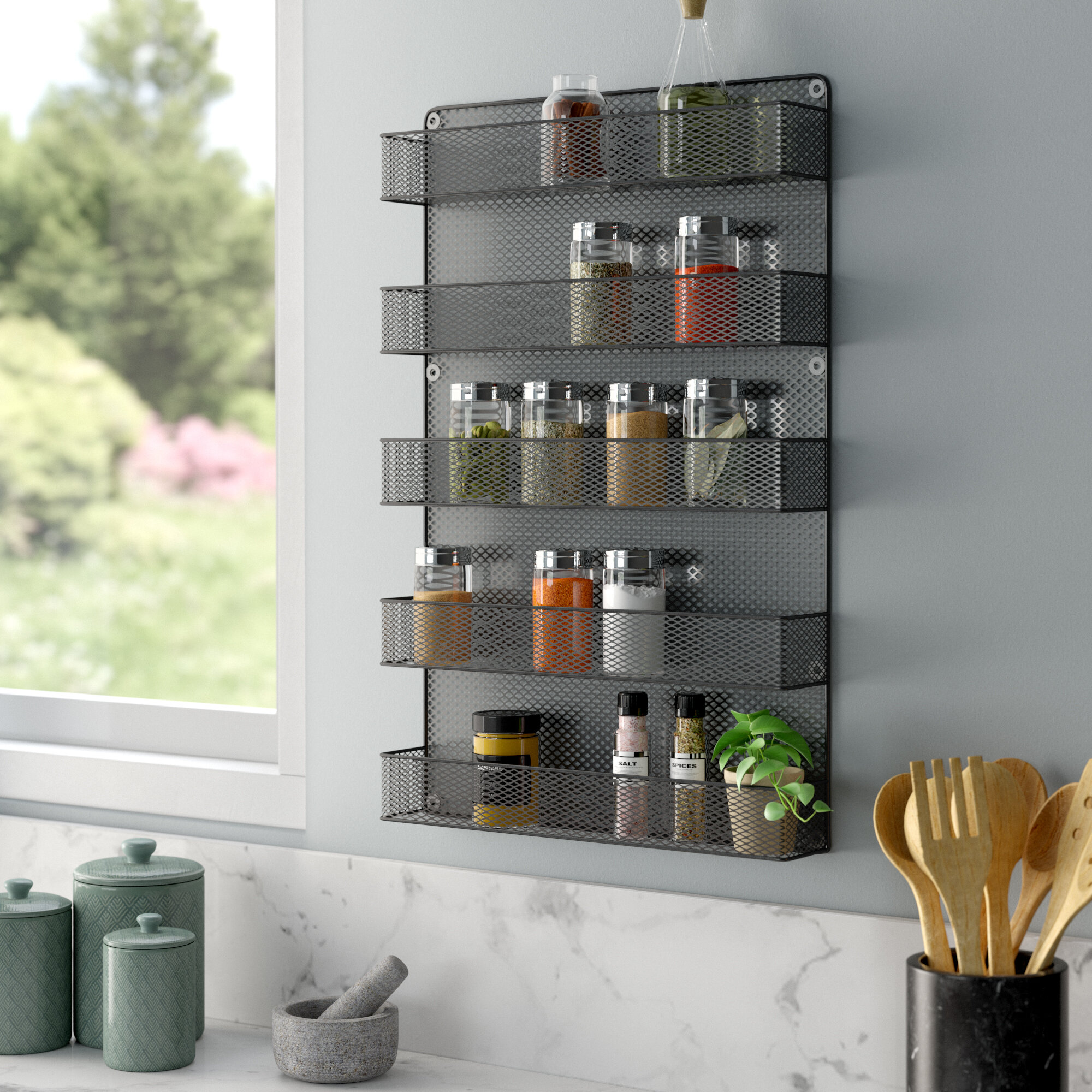 Cabinet Door Spice Rack Wayfair