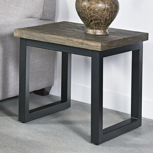 Durham End Table by 17 Stories
