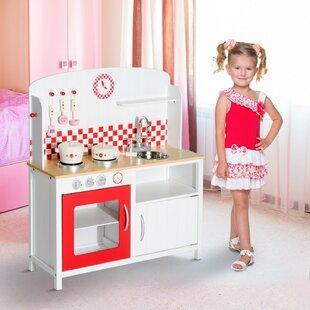 Childrens Wooden Kitchen Wayfair Co Uk