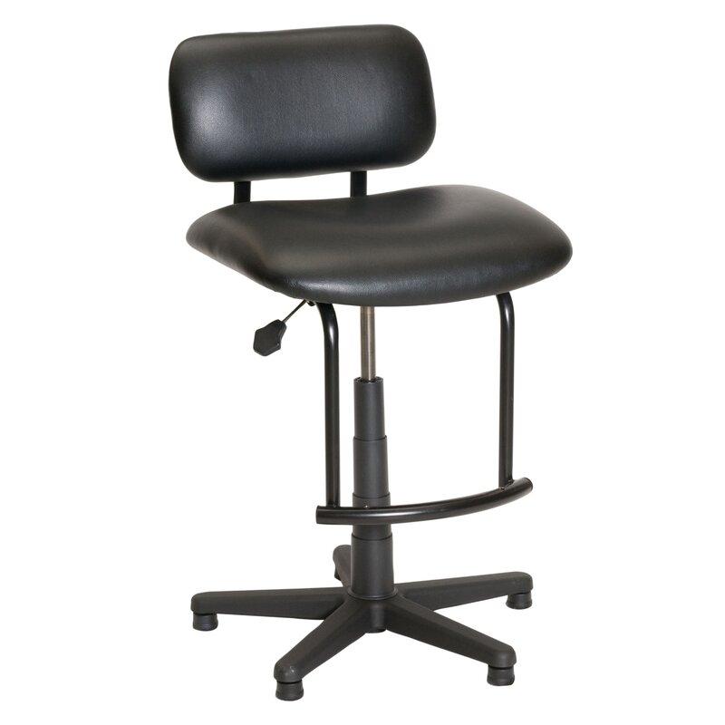 Traditional Tubular Base Drafting Chair