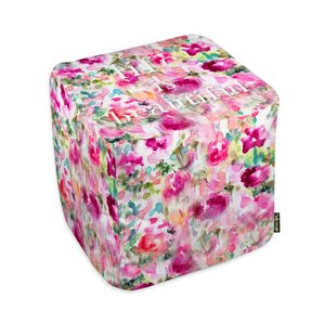 Oliver Gal Home Life in Wonderland Ottoman by Oliver Gal