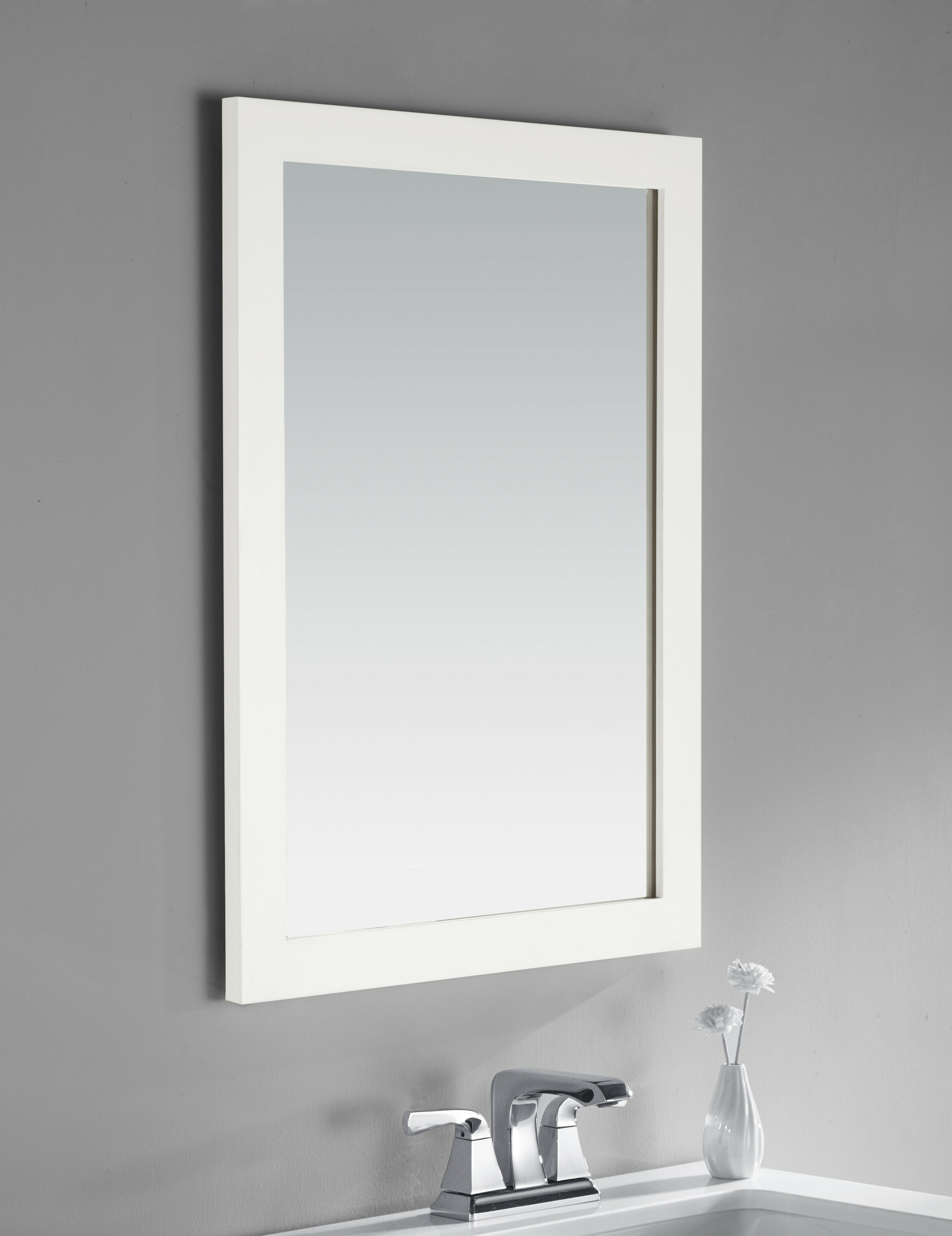 Simpli Home Cape Cod Bathroom/Vanity Mirror & Reviews | Wayfair