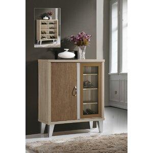 4 Pair Shoe Storage Cabinet