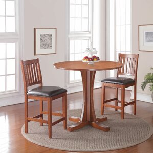 3 Piece Pub Table Set by Loon Peak